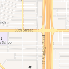 Directions for Long John Silver's Restaurant in Lubbock, TX 1101 50th St
