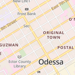 Directions for NORMA'S CAFE in ODESSA, TX 111 E 5TH ST