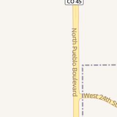 Directions for Pyramid Motors in Pueblo, CO 2751 N Pueblo Blvd