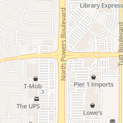 Directions for Wildflower Florist in Colorado Springs, CO 2916 N Powers Blvd