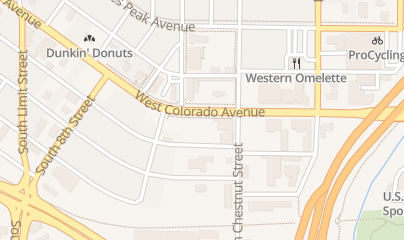 Directions for Java 7 Ltd in Colorado Springs, CO 625 W Colorado Ave