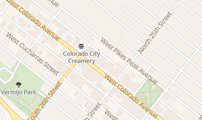 Directions for Bernideen's in Colorado Springs, CO 2520 W Colorado Ave