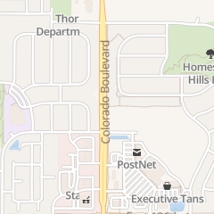 Directions for Foxy Nail in Thornton, CO 13691 Colorado Blvd Ste 107