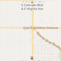 Directions for 123 Locksmith in Denver, CO 709 S University Blvd