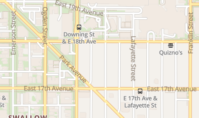 Directions for Discover Health and Wellness Uptown in Denver, CO 1747 N. Marion St.