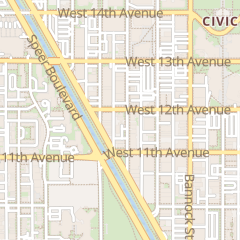 Directions for 1165 Delaware in Denver, CO 1165 Delaware St