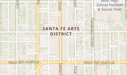 Directions for Andrea Schumacher Interiors in Denver, CO 870 Santa Fe