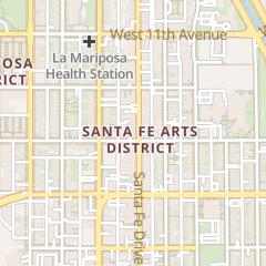 Directions for Volume9 Inc in Denver, CO 901 Santa Fe Dr