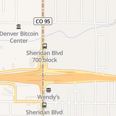 Directions for Public Storage in Denver, CO 680 Sheridan Blvd
