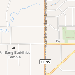 Directions for South Sheridan Baptist Church in Lakewood, CO 5303 W Kentucky Ave