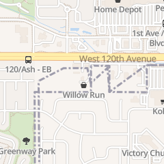 Directions for WILLOW RUN FEED & SUPPLY in Broomfield, CO 5700 W 120Th Ave