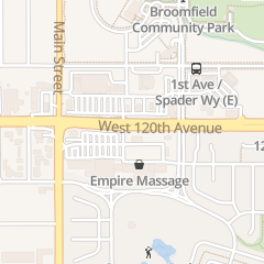 Directions for Aaa Nail Supply in Broomfield, CO 6570 W 120th Ave Ste C1