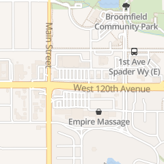 Directions for Nails Tec in Broomfield, CO 6765 W 120th Ave Unit G