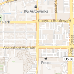 Directions for Tiffany's Nails & Spa llc in Boulder, CO 1635 Folsom St