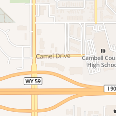 Directions for SOLAR NAILS & SPA in GILLETTE, wy 900 Camel Dr Ste Aa