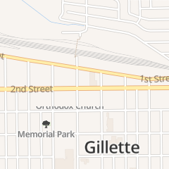 Directions for Braccetto's Salon in Gillette, WY 101 E 2nd St