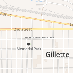 Directions for Ronita's Hair Care in Gillette, WY 222 S Gillette Ave