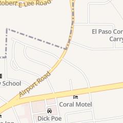 Directions for U-Haul Neighborhood Dealer - Airport Auto Inc in El Paso, TX 6344 Airport Rd