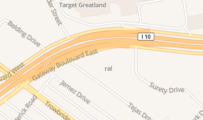 Directions for Gun Central in El Paso, TX 6010 Gateway Blvd E