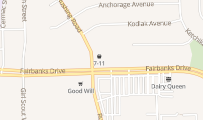 Directions for 7-Eleven in El Paso, TX 5201 Fairbanks Dr