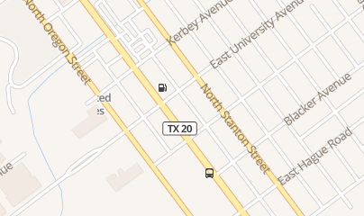 Directions for 7-Eleven in El Paso, TX 2112 N Mesa St