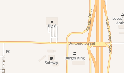 Directions for 7-Eleven - No 34 in Anthony, TX 2018 Antonio St