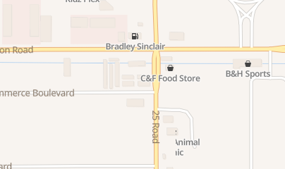 Directions for Junction Auto Glass in Grand Junction, CO 2498 Commerce Blvd