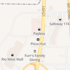 Directions for NIZHONI PROFESSIONAL HOME CARE in Gallup, NM 1303 Metro Ave