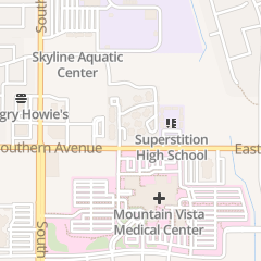 Directions for Coyote Landing Hoa in Mesa, AZ 10136 e Southern Ave