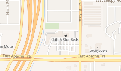 Directions for Lift & Stor Beds in Mesa, AZ 9124 E Main St #7