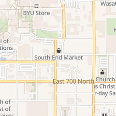 Directions for Bradford Automotive in Provo, UT 816 N 700 E