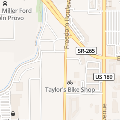 Directions for Big O Tires in Provo, UT 1595 N Freedom Blvd