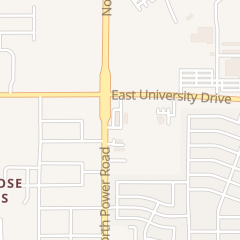 Directions for Chase Bank Atm in Mesa, AZ 339 N Power Rd