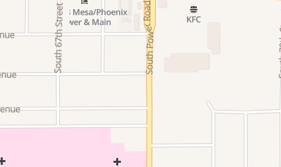 Directions for Yenching Resturant in Mesa, AZ 126 S Power Rd