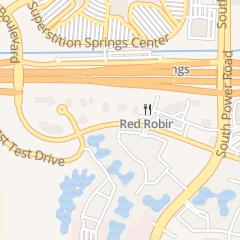 Directions for Rto Sullivans in Mesa, AZ 6646 E Superstition Springs Blvd