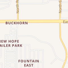 Directions for East Valley Foot and Ankle Specialists in Mesa, AZ 6116 E Arbor Ave Ste 118