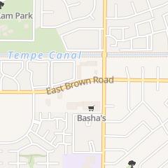 Directions for CHRISTMAS IDEA HOUSE in Mesa, az 351 E Brown Rd