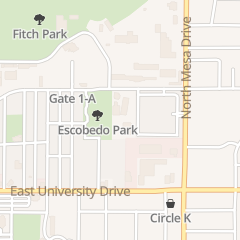 Directions for The Salvation Army in Mesa, AZ 241 E 6th St