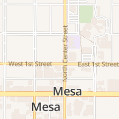 Directions for Downtown Mesa Association in Mesa, AZ 100 N Center St