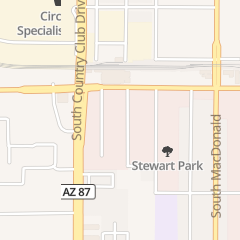 Directions for Silver Mountain Landscaping in Mesa, AZ 436 S Lebaron