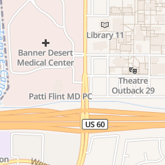 Directions for Banner Health - Banner Surgicenters in Mesa, AZ 1500 S Dobson Rd