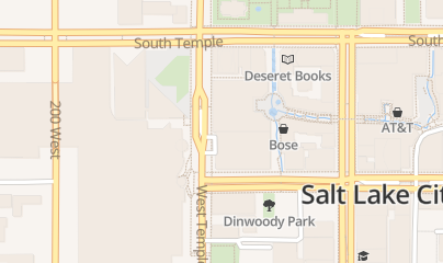 Directions for Benihana - Salt Lake City in Salt Lake City, UT 165 S West Temple Ste 1