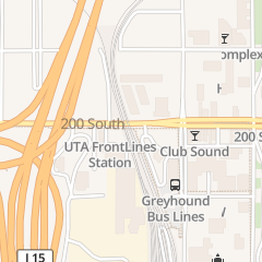 Directions for Greyhound Packagexpress in Salt Lake City, UT 300 S 600 W