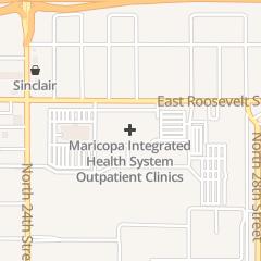 Directions for MARICOPA MEDICAL CENTER 2601 E ROOSEVELT in Phoenix, AZ 2601 E Roosevelt St