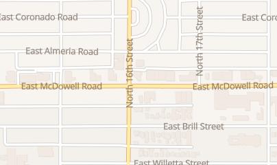 Directions for Billares Silverado in Phoenix, AZ 1612 E Mcdowell Rd