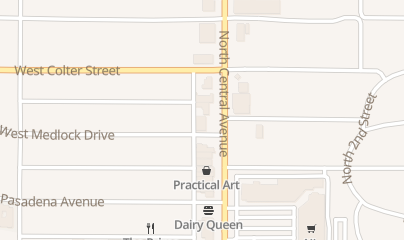 Directions for Phoenix AC & Heating Repair in Phoenix, AZ 5122 N Central Ave