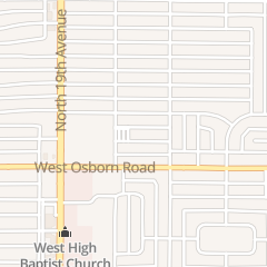Directions for St Gregory's Office of Religious Education in Phoenix, AZ 1732 W Mitchell Dr