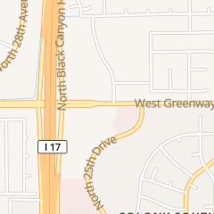 Directions for We Care Dental in Phoenix, AZ 2525 W Greenway Rd