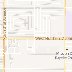 Directions for Along Side Ministries in Phoenix, AZ 2830 W Northern Ave