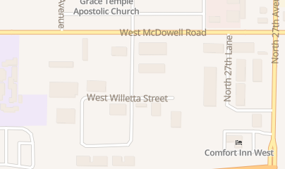 Directions for Sexton Pest Control in Phoenix, AZ 1401 N 29th Ave